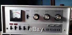 Yaesu FL 2500 HF Ham Radio Amplifier. WORKING