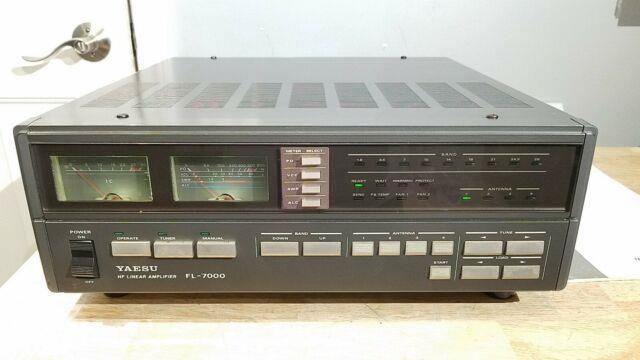 Yaesu Fl-7000 Hf Linear Amp Amplifier N4ats Ft 1000 C My Other Ham Radio Gear