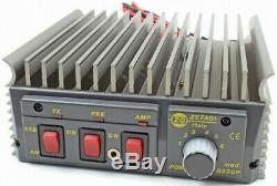 Zetagi B300P 20 30 MHz 400w PEP Mobile Amplifier b 300 p Burner CB HAM RADIO SSB
