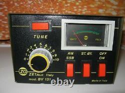 Zetagi BV131 Homebase Linear Amplifier for CB Ham Radio Superb