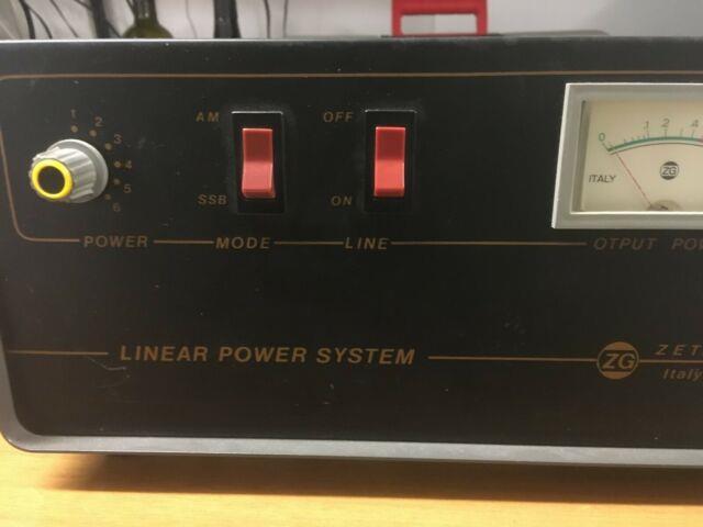 Zetagi Power Amplifier Linear 23/30mhz Stadio Solido 300am 500ssb Pep